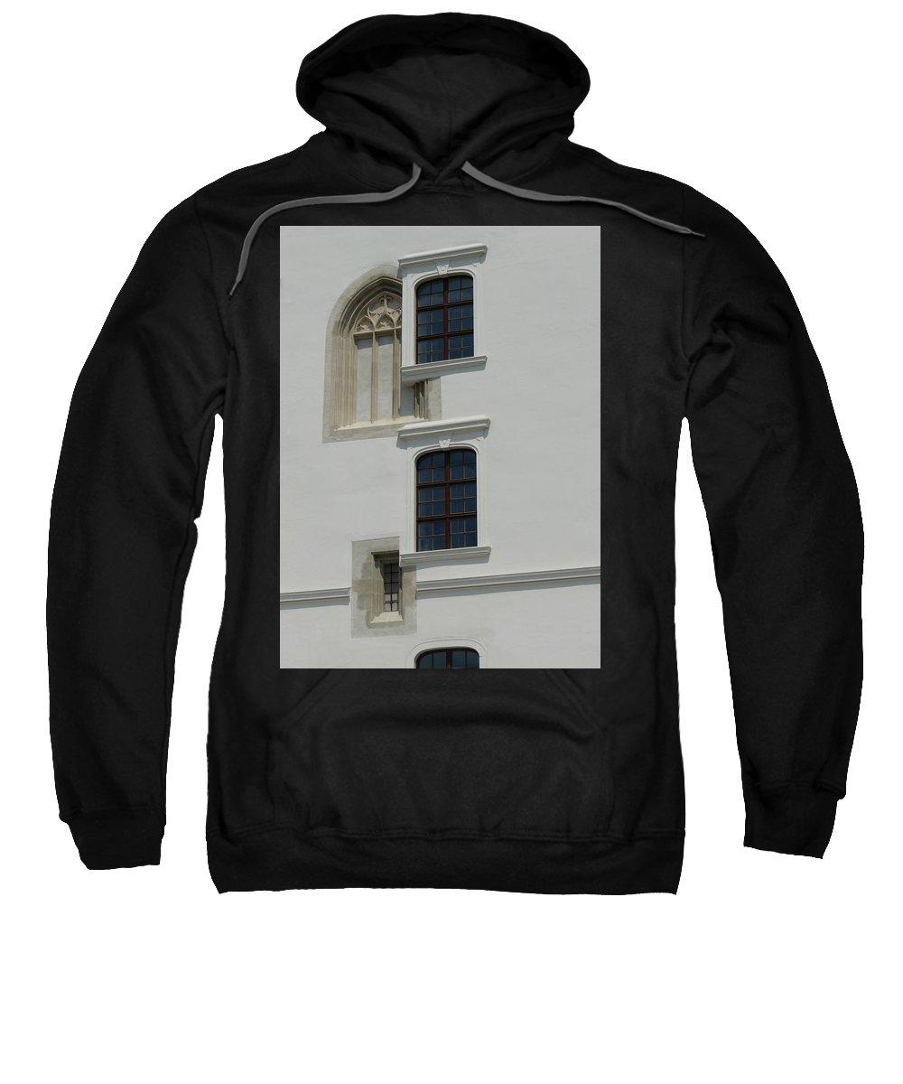 Window Sweatshirt featuring the photograph Windows Pick by Valerie Ornstein