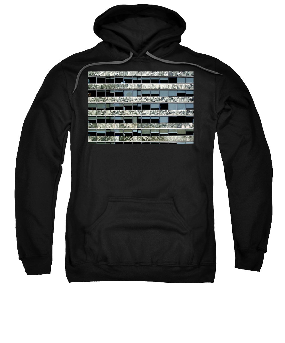 Buenos Aires Sweatshirt featuring the photograph Windows X by Osvaldo Hamer