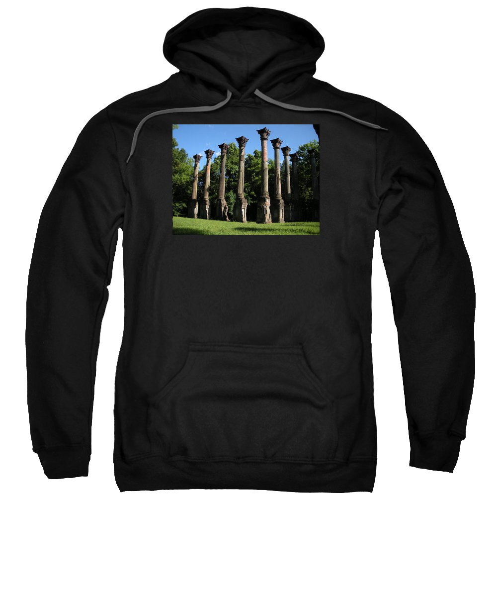 Plantation Sweatshirt featuring the photograph Windsor Mansion 1 by Nelson Strong