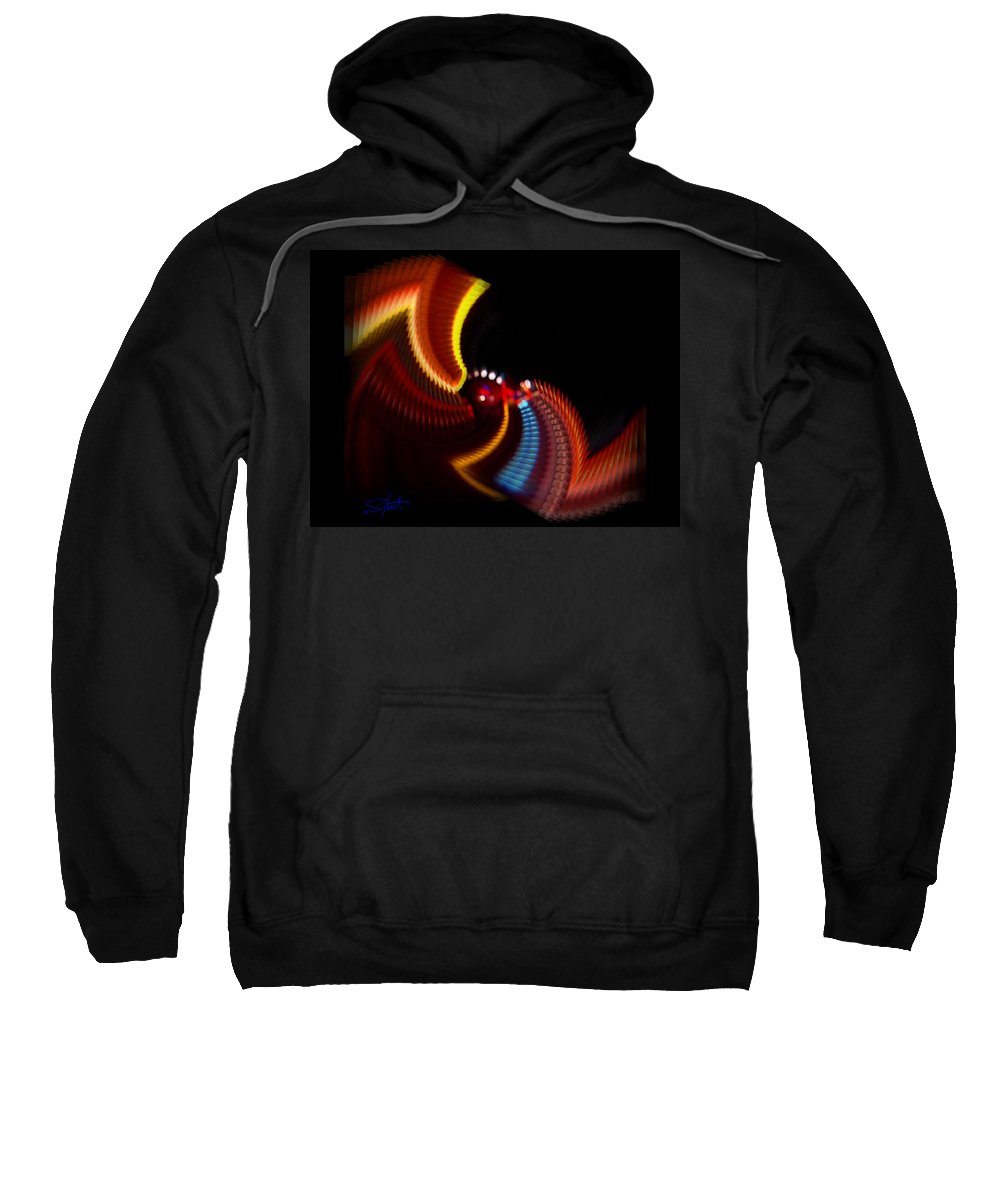 Chaos Sweatshirt featuring the photograph Wings by Charles Stuart