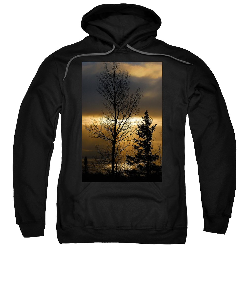Nature Sweatshirt featuring the photograph Winter Sunrise 2 by Sebastian Musial