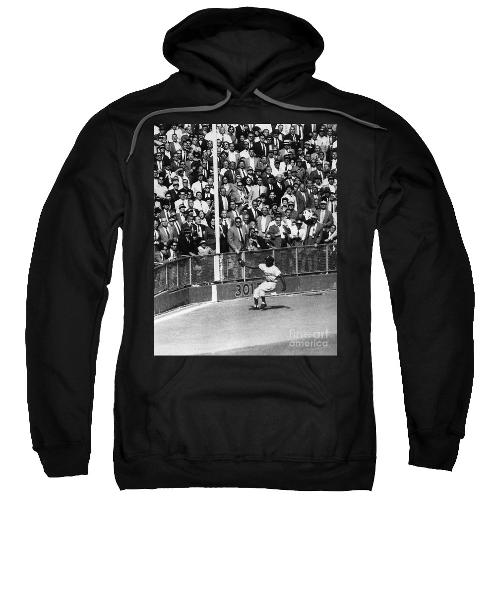 1955 Sweatshirt featuring the photograph World Series, 1955 by Granger
