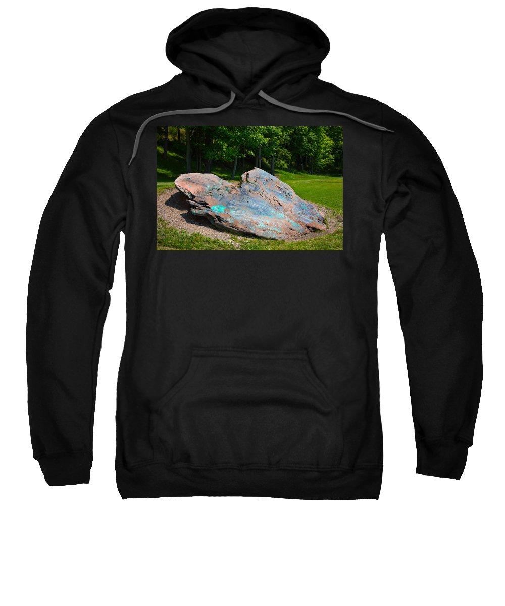 Presque Isle Sweatshirt featuring the photograph Worlds Largest by Michael Tucker