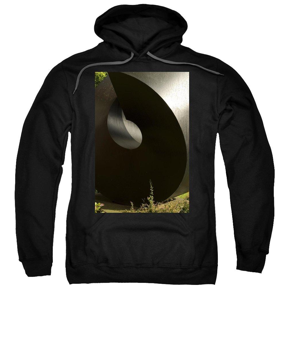 Round Sweatshirt featuring the photograph Wrap by Sara Stevenson