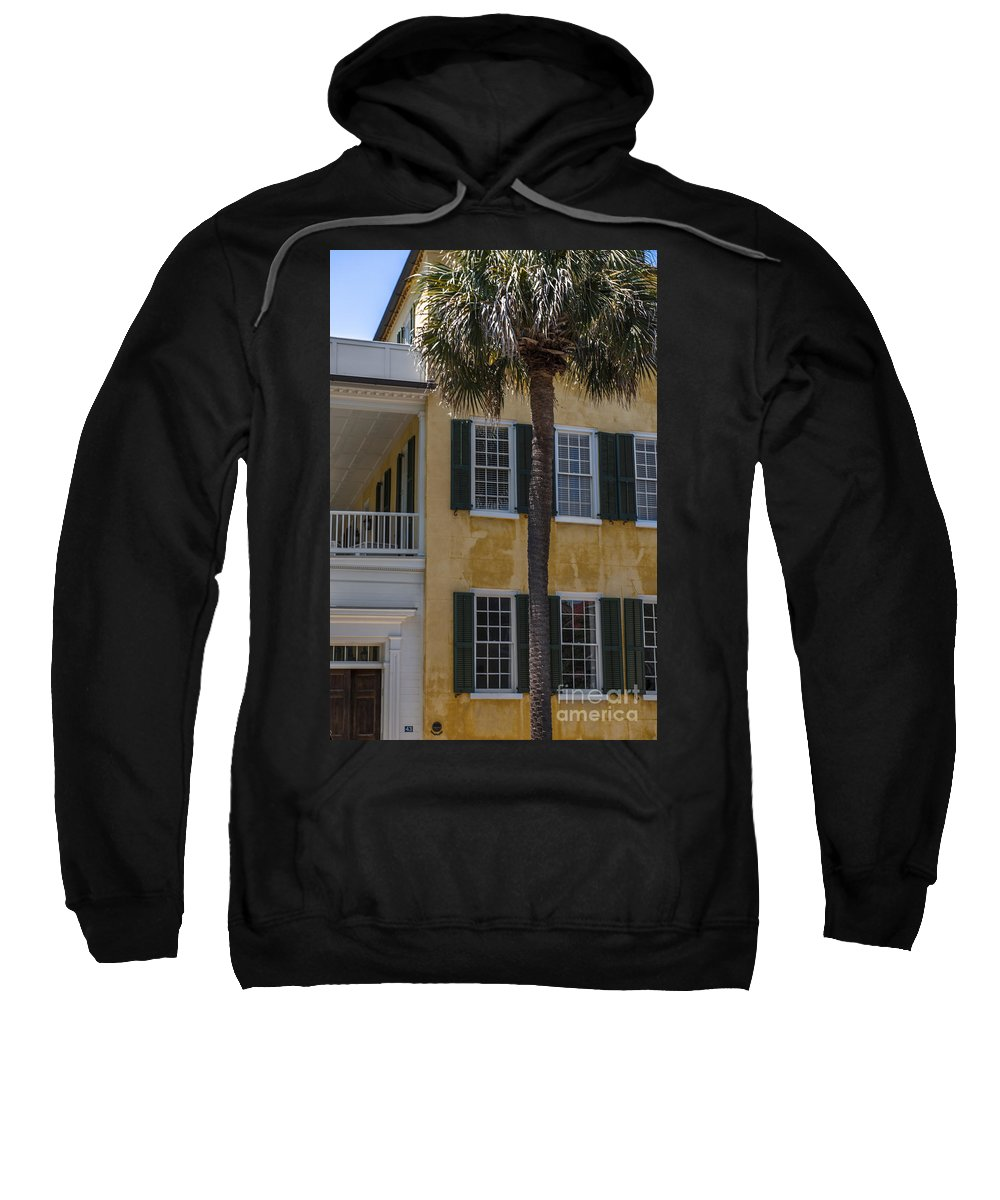 Charleston Sweatshirt featuring the photograph South Of Broad by Dale Powell