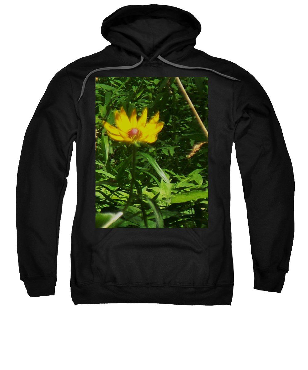 Flower Sweatshirt featuring the photograph Yellow Flower by Eric Schiabor