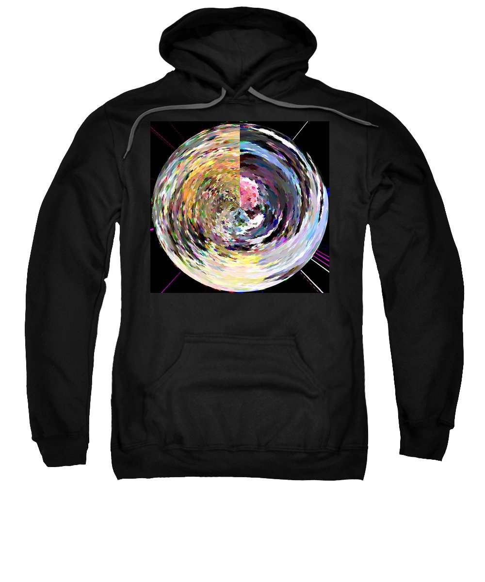 Digital Sweatshirt featuring the painting Zing by Anil Nene