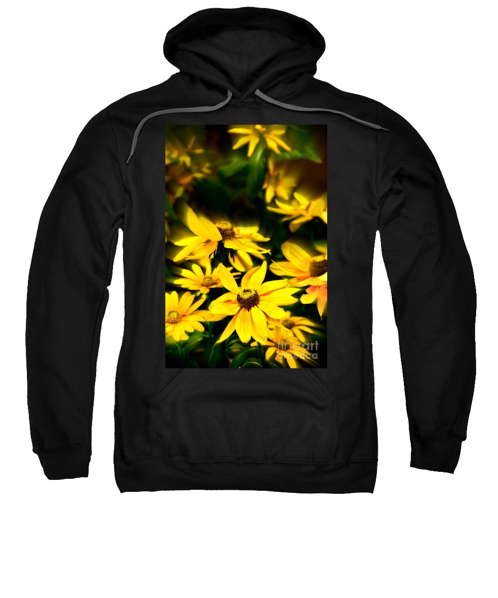 Flowers Sweatshirt featuring the photograph Zinnia Flower by Charuhas Images