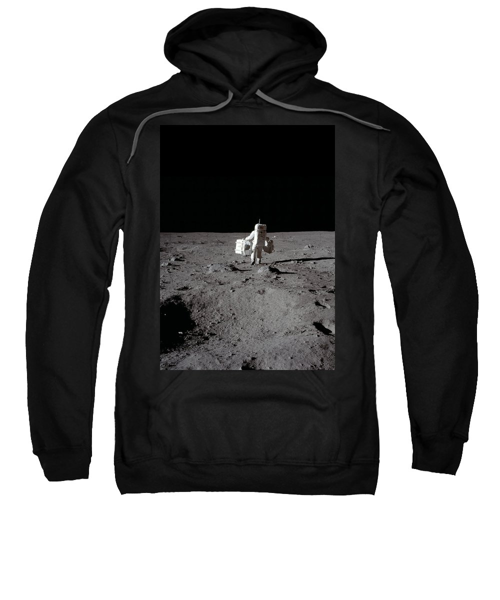 Space Sweatshirt featuring the digital art Another Day Another Dollar by Filip Hellman