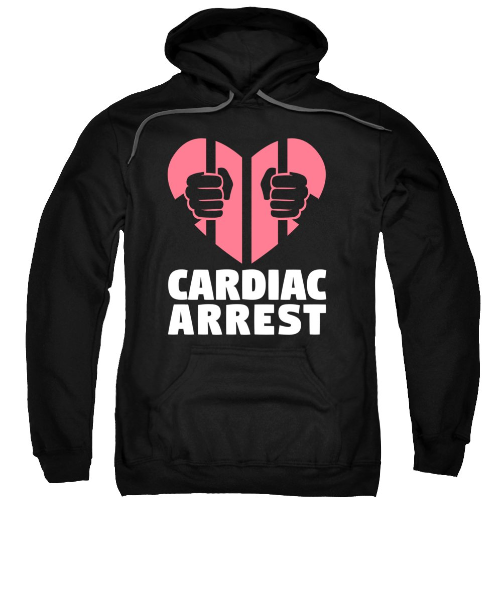 Cardiac Hooded Sweatshirts T-Shirts
