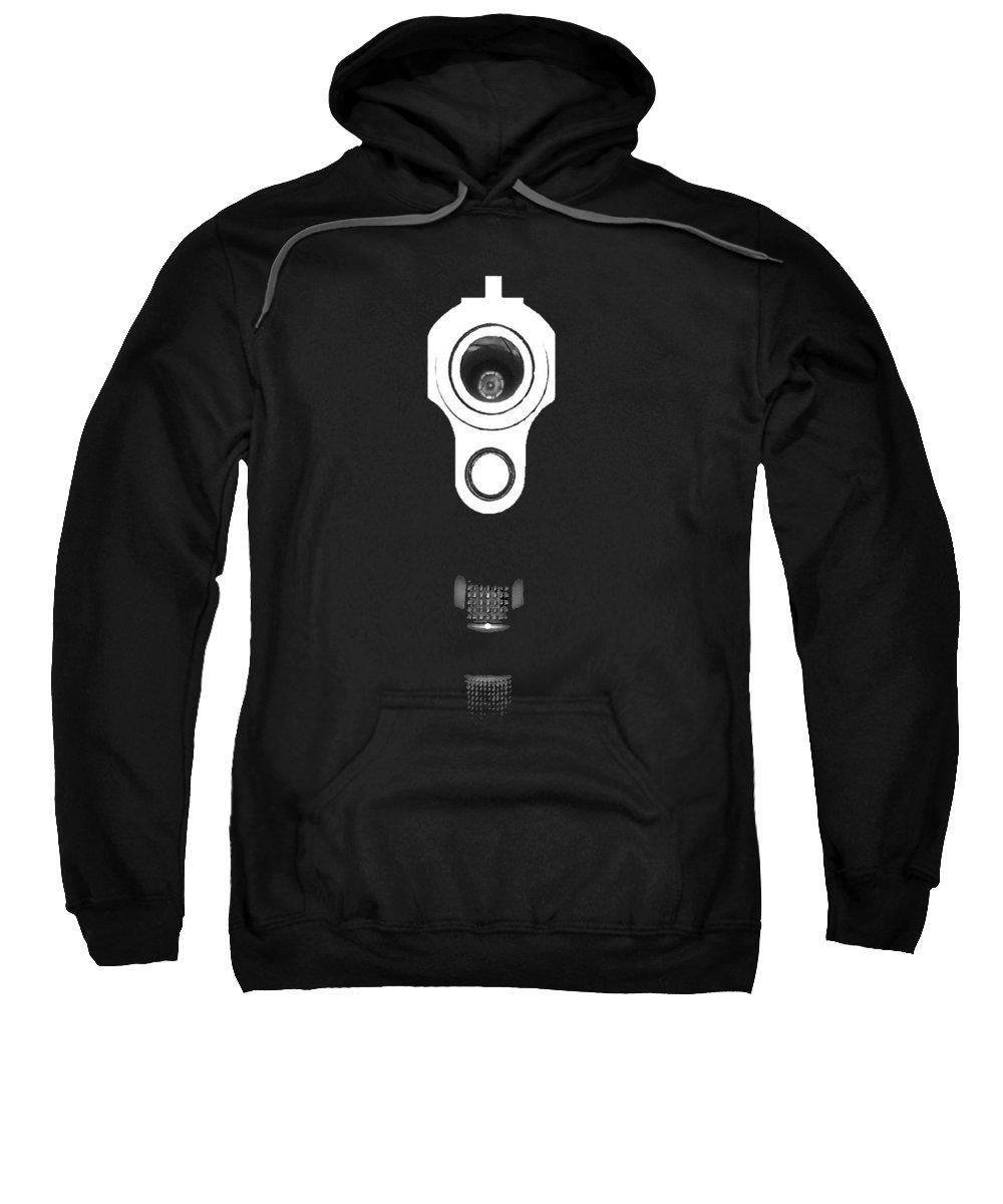 Handgun Hooded Sweatshirts T-Shirts