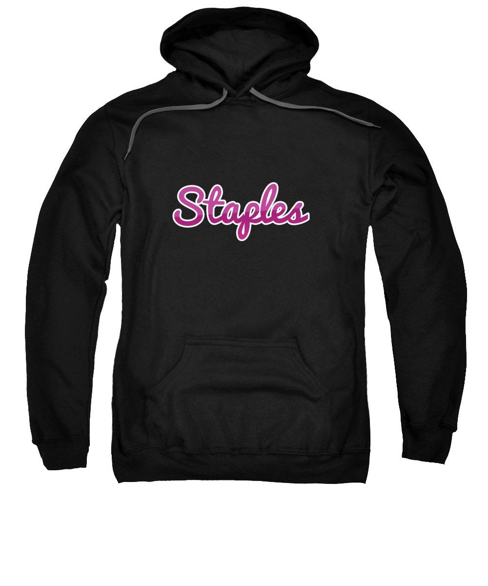 Staples Hooded Sweatshirts T-Shirts