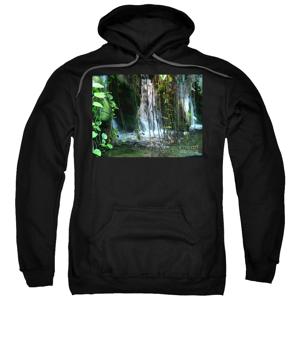 Water Sweatshirt featuring the photograph Water Feature by Michael MacGregor
