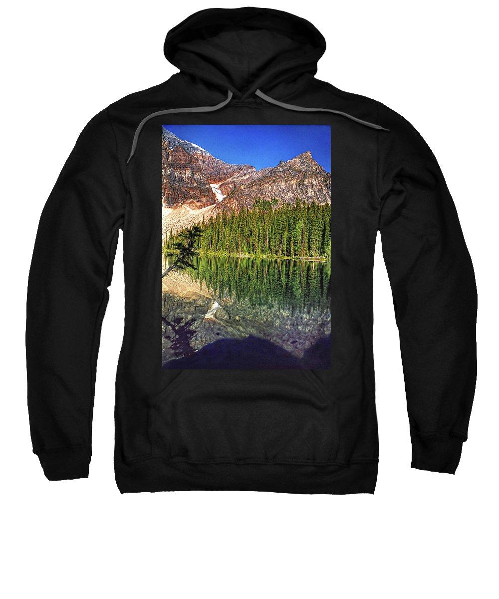 Canada Sweatshirt featuring the photograph Yearnings by Steve Harrington
