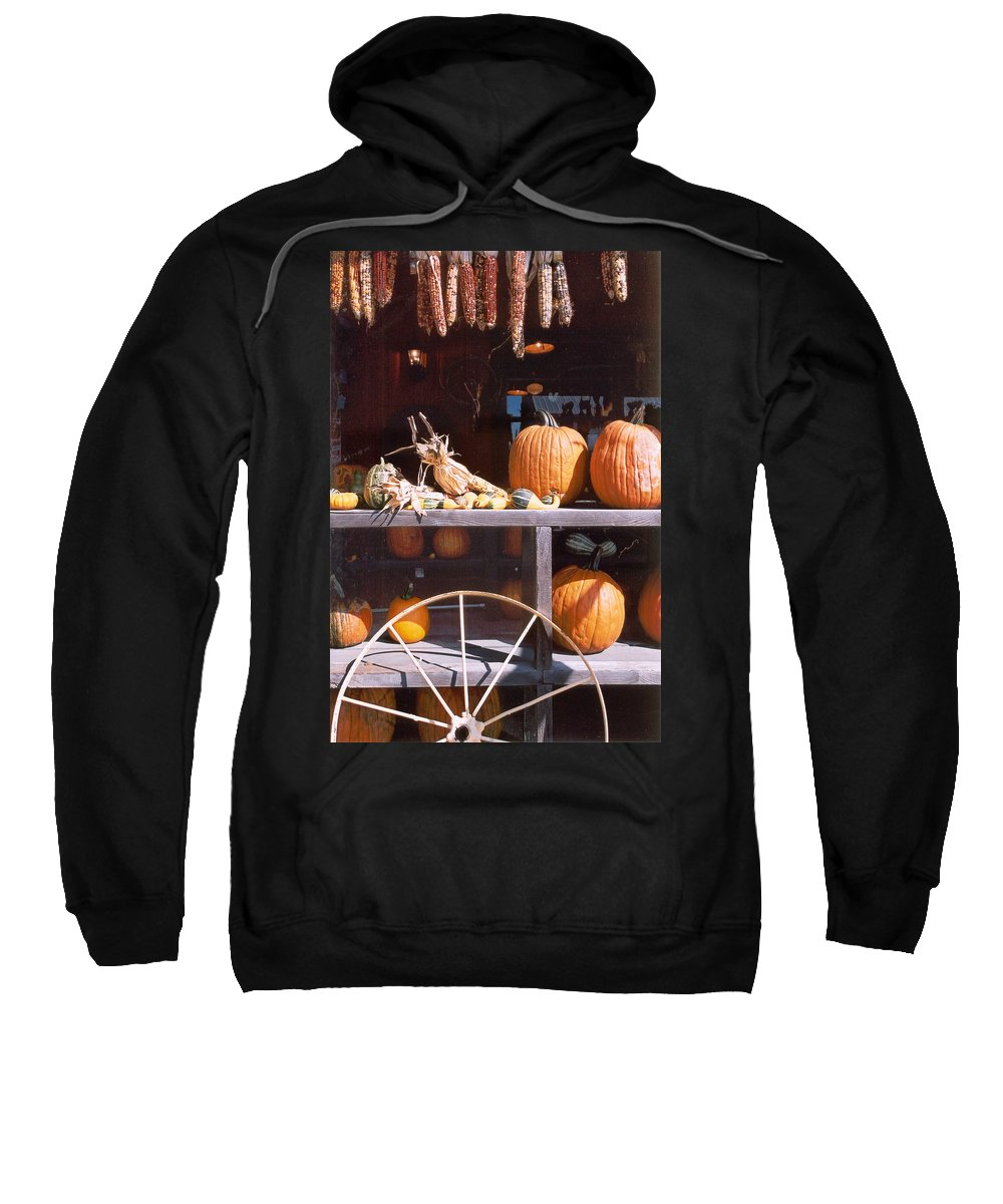 Still Life Sweatshirt featuring the photograph Autumn Still Life by Steve Karol