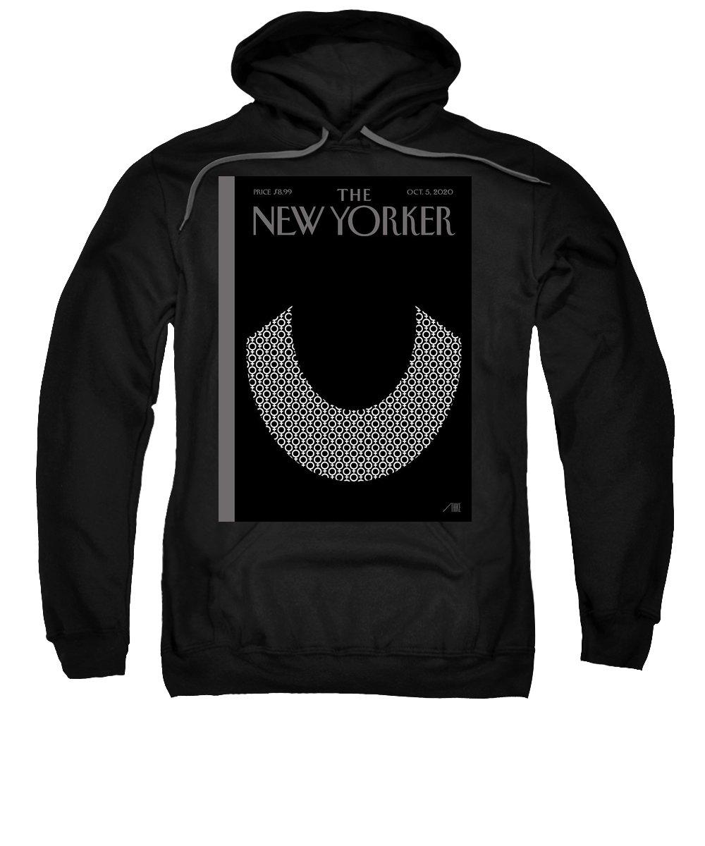 Rbg Sweatshirt featuring the digital art Icons by Bob Staake