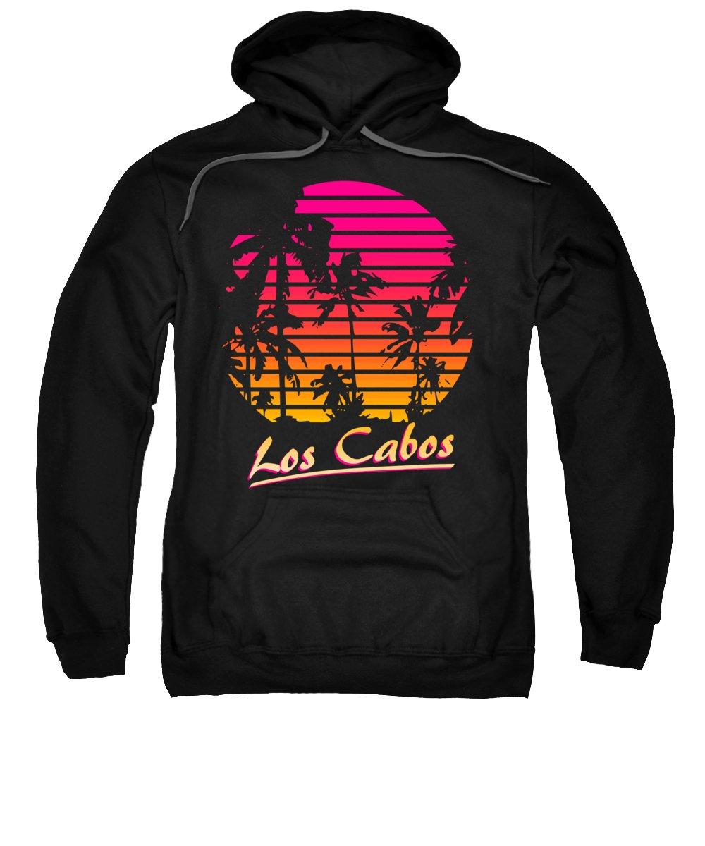 Classic Sweatshirt featuring the digital art Los Cabos by Filip Schpindel