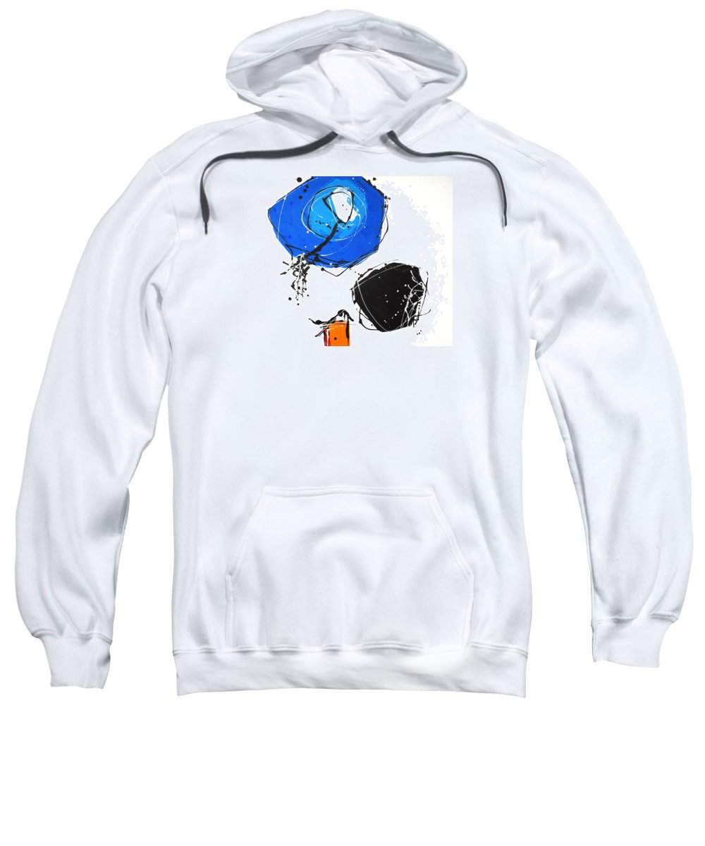 Painting Sweatshirt featuring the painting 010815 by Toshio Sugawara