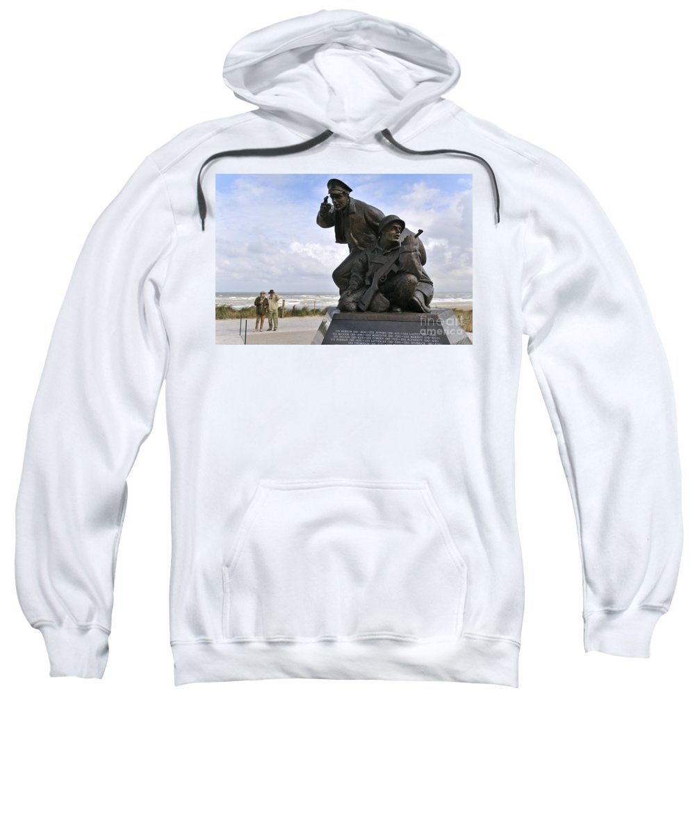 Utah Beach Sweatshirt featuring the photograph 080911p172 by Arterra Picture Library