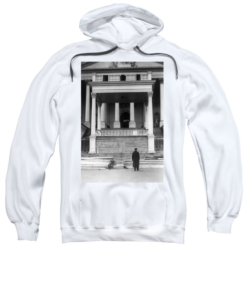 1921 Sweatshirt featuring the photograph Harding Inauguration, 1921 by Granger