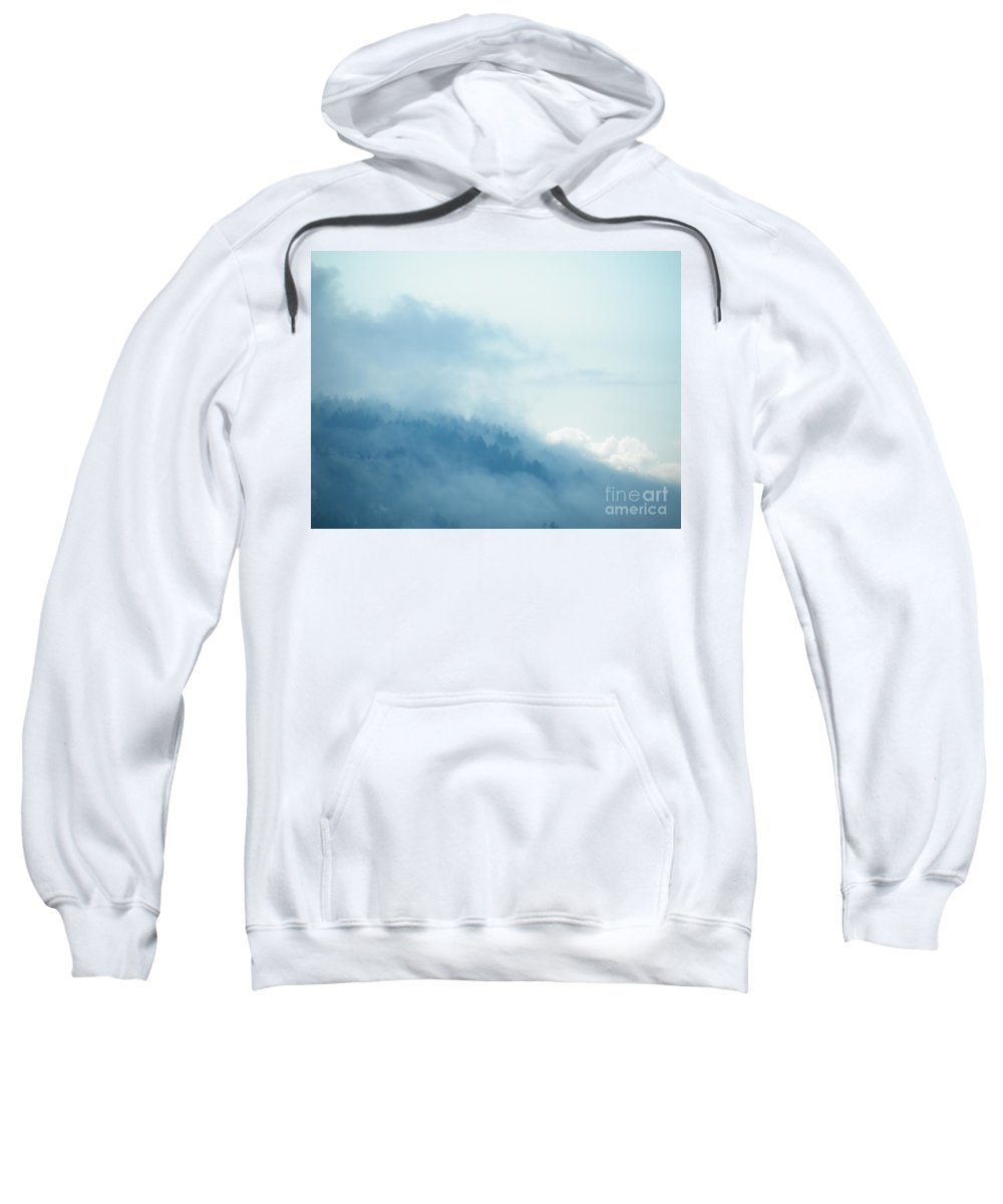 Morning Sweatshirt featuring the photograph Into The Morning by Brian Boyle