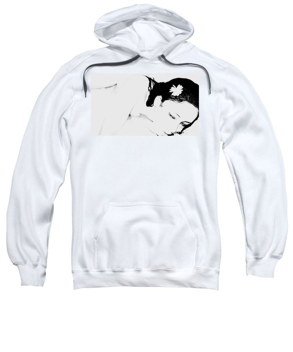 Black Sweatshirt featuring the photograph Melancholy by Jessica Shelton