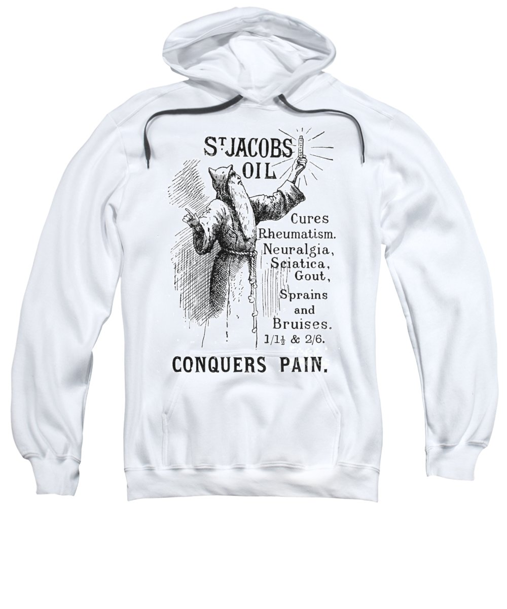 1894 Sweatshirt featuring the photograph Patent Medicine, 1894 by Granger