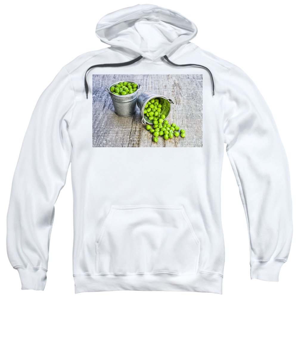 Ice Sweatshirt featuring the photograph Peas by Paulo Goncalves