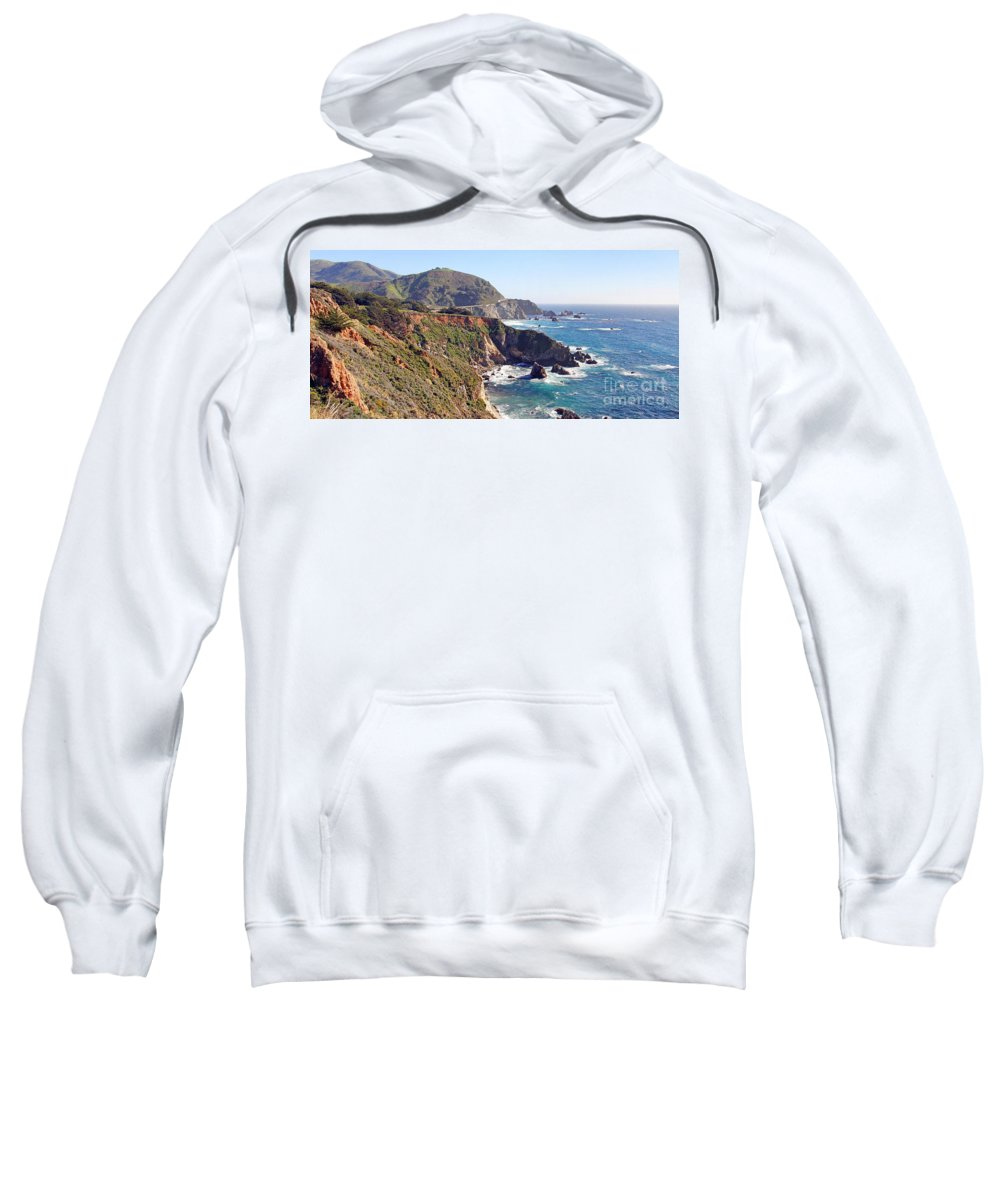 Rocky Creek Bridge Sweatshirt featuring the photograph Rocky Creek Bridge by Jack Schultz