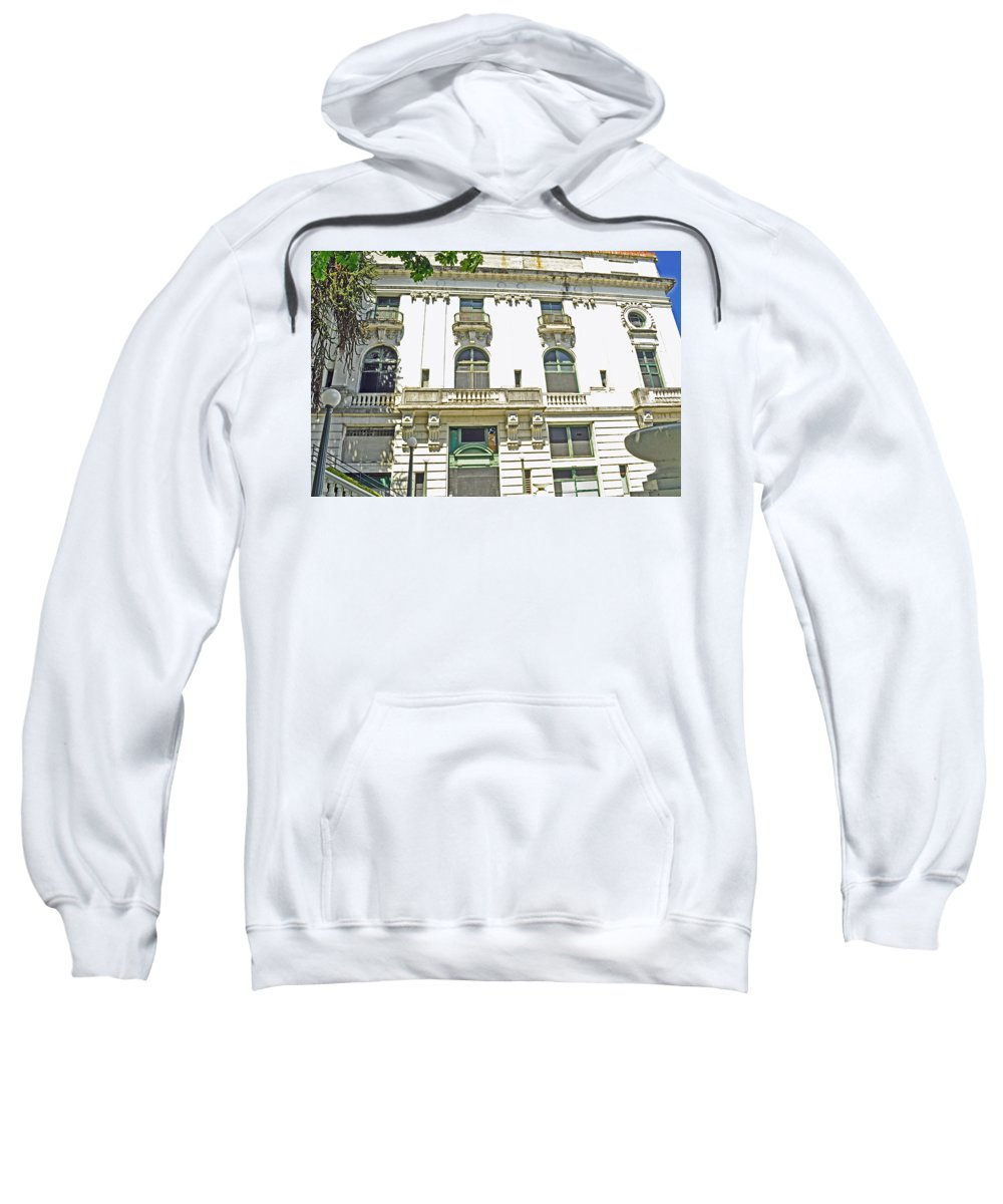 Elks Club Sweatshirt featuring the photograph Tacoma Elks Club by Tikvah's Hope