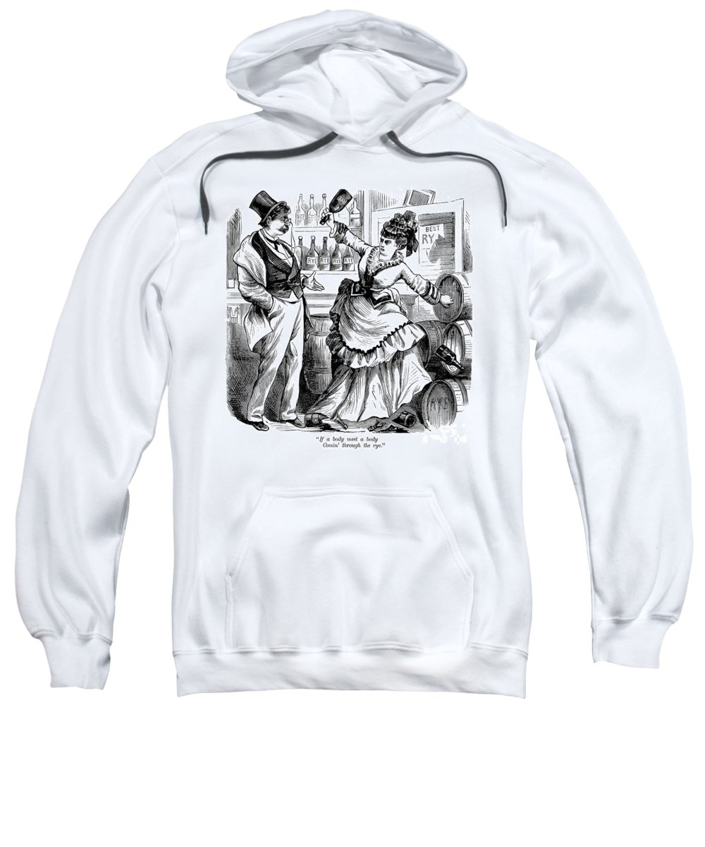 1874 Sweatshirt featuring the photograph Temperance Movement, 1874 by Granger