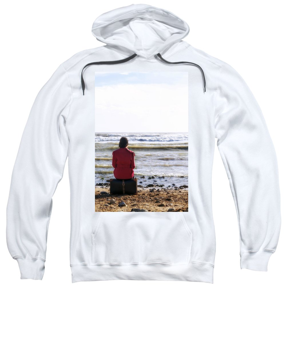 Woman Sweatshirt featuring the photograph Waiting by Joana Kruse