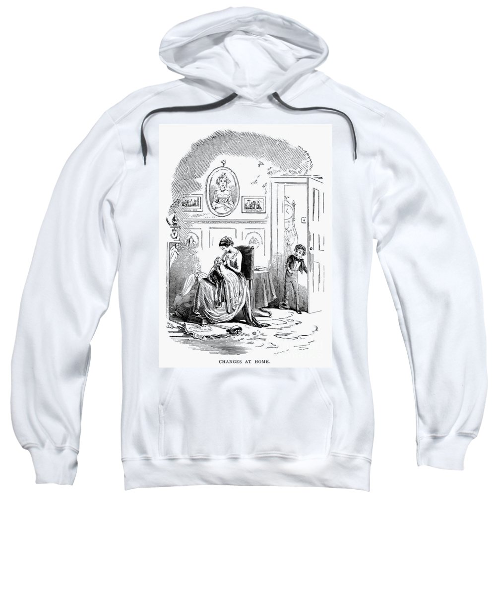 19th Century Sweatshirt featuring the photograph Dickens: David Copperfield by Granger