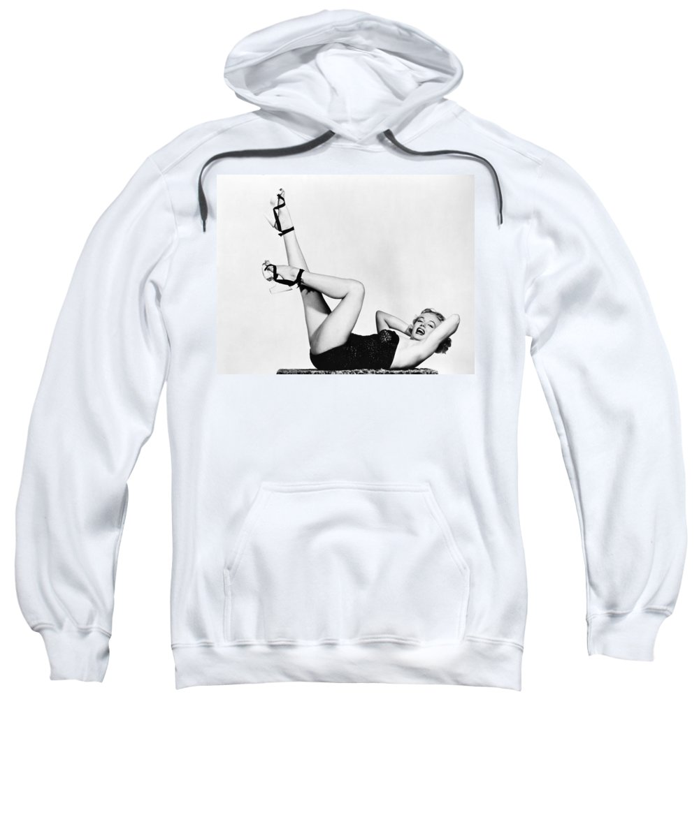 20th Century Sweatshirt featuring the photograph Marilyn Monroe by Granger