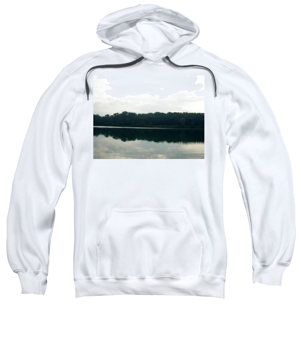 Lake Sweatshirt featuring the photograph 1256c by Kimberlie Gerner
