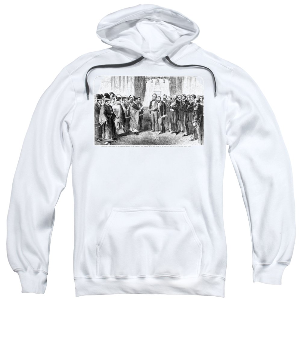 1872 Sweatshirt featuring the painting Ulysses S by Granger