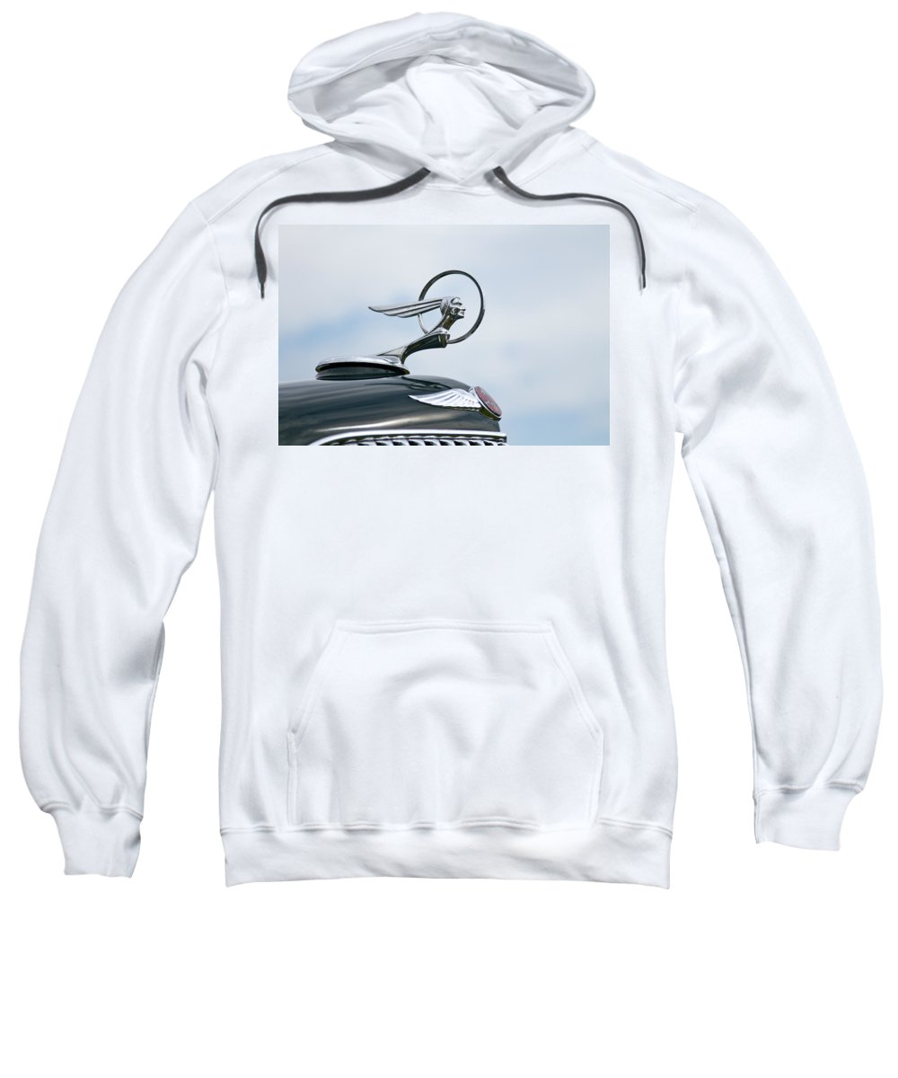 Glenmoor Sweatshirt featuring the photograph 1933 Pontiac by Jack R Perry
