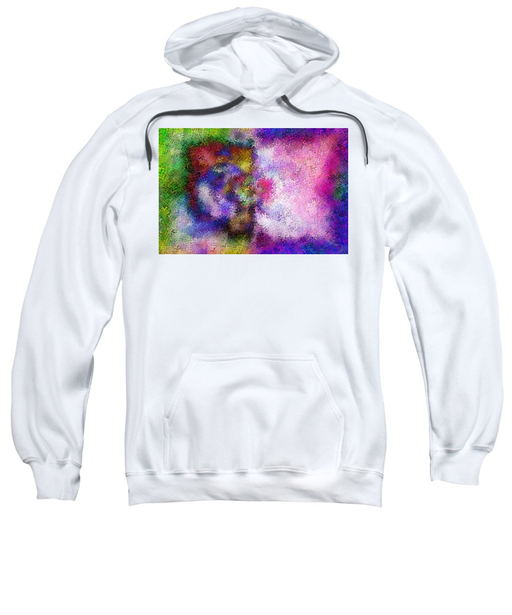 Sweatshirt featuring the digital art 1997014 by Studio Pixelskizm
