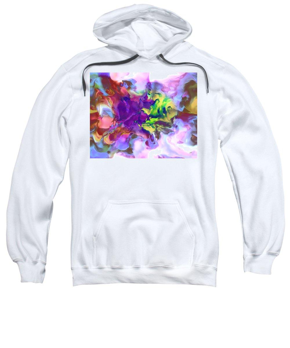 Sweatshirt featuring the digital art 1998007 by Studio Pixelskizm