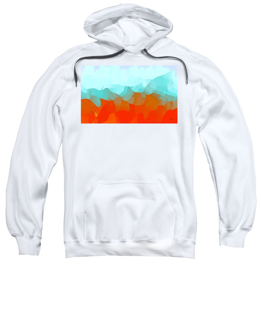 Sweatshirt featuring the digital art 1998039 by Studio Pixelskizm