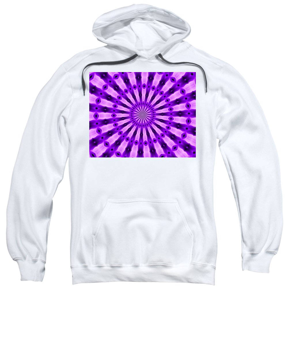 Original Sweatshirt featuring the painting Abstract 122 by J D Owen