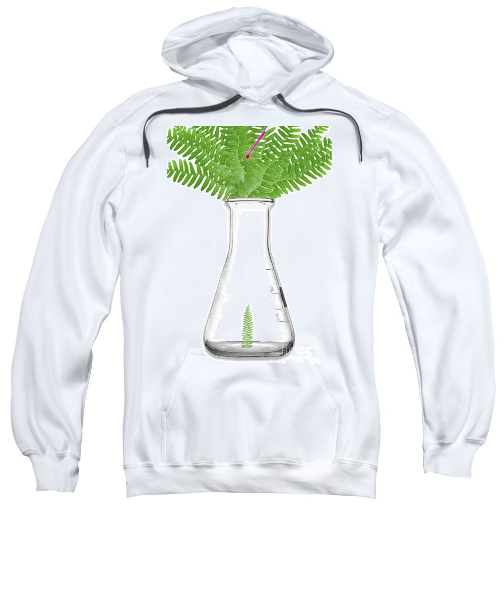 Science Sweatshirt featuring the photograph Bioengineering, Artwork by Sigrid Gombert
