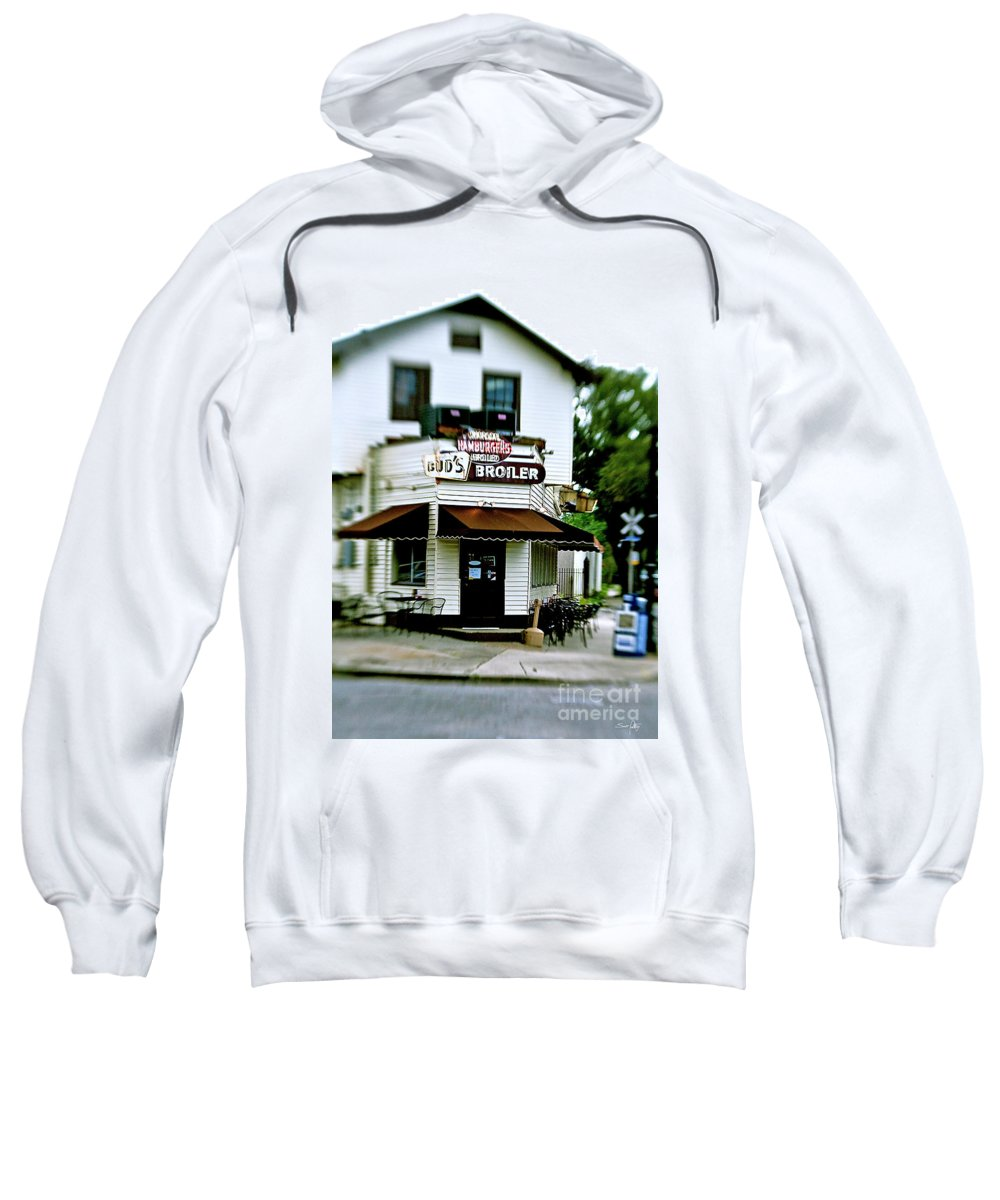 Lensbaby Sweatshirt featuring the photograph Bud's by Scott Pellegrin