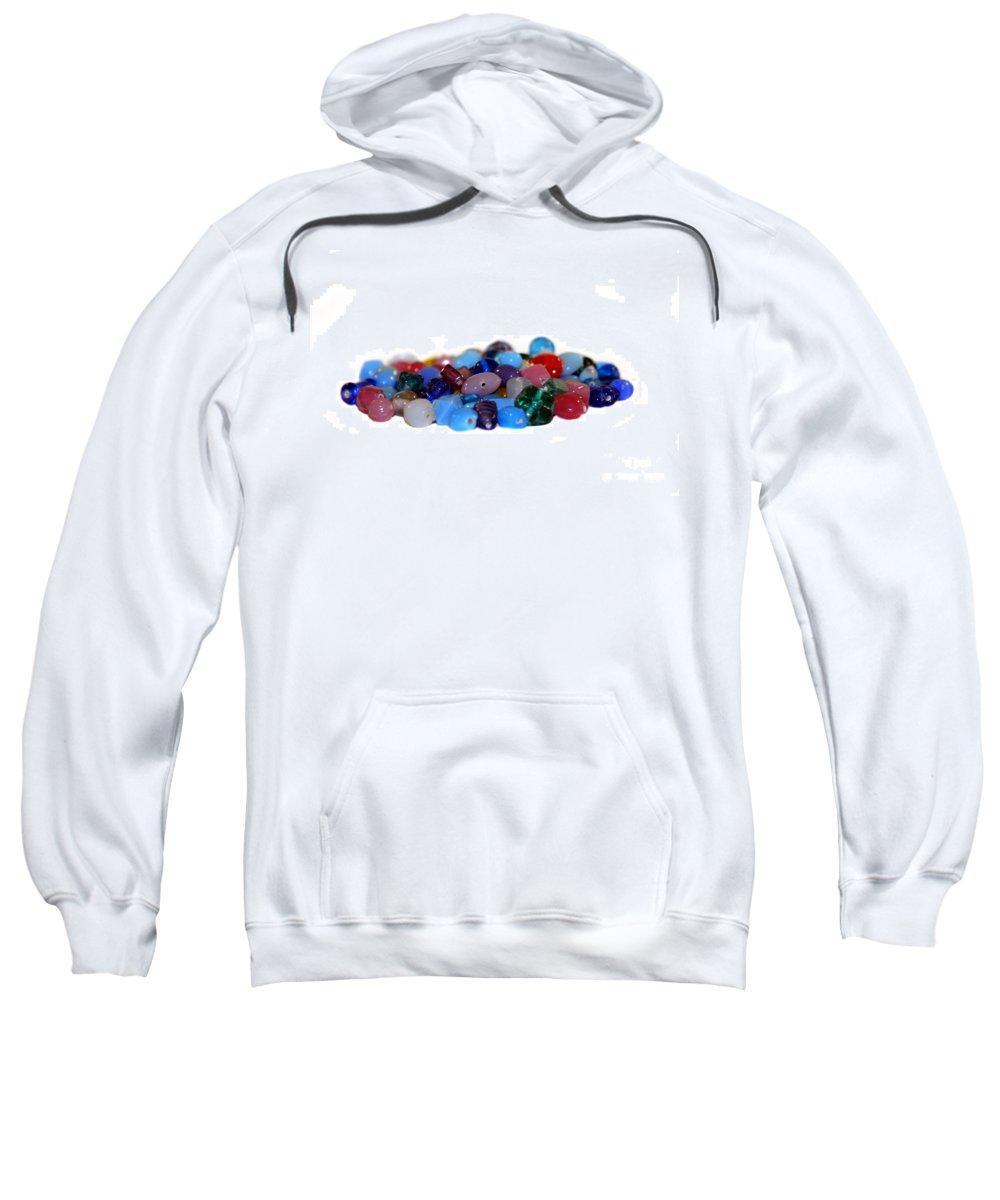 Gems Sweatshirt featuring the photograph Gemstones by Henrik Lehnerer