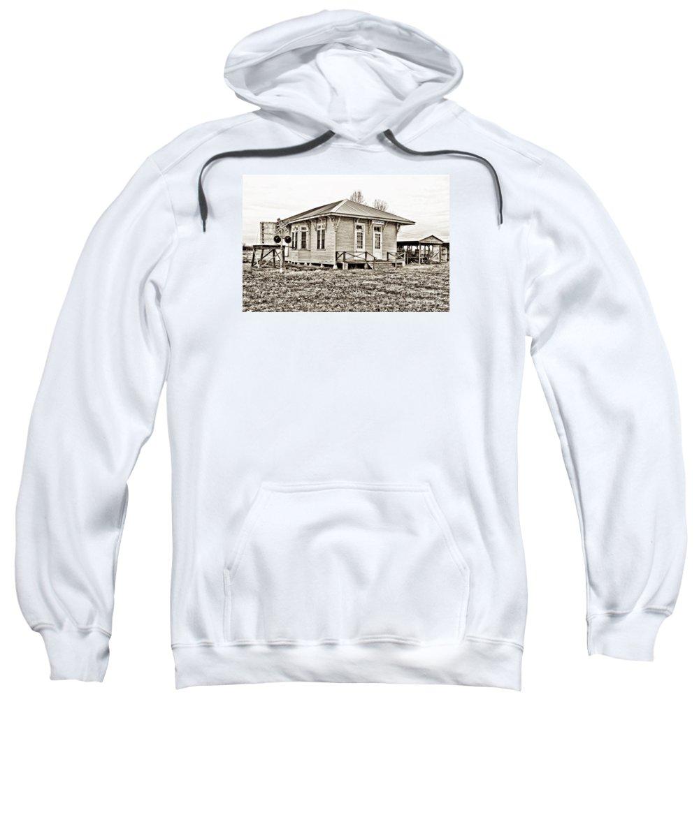 Powhatan Sweatshirt featuring the photograph Powhatan - Hdr Sepia by Scott Pellegrin