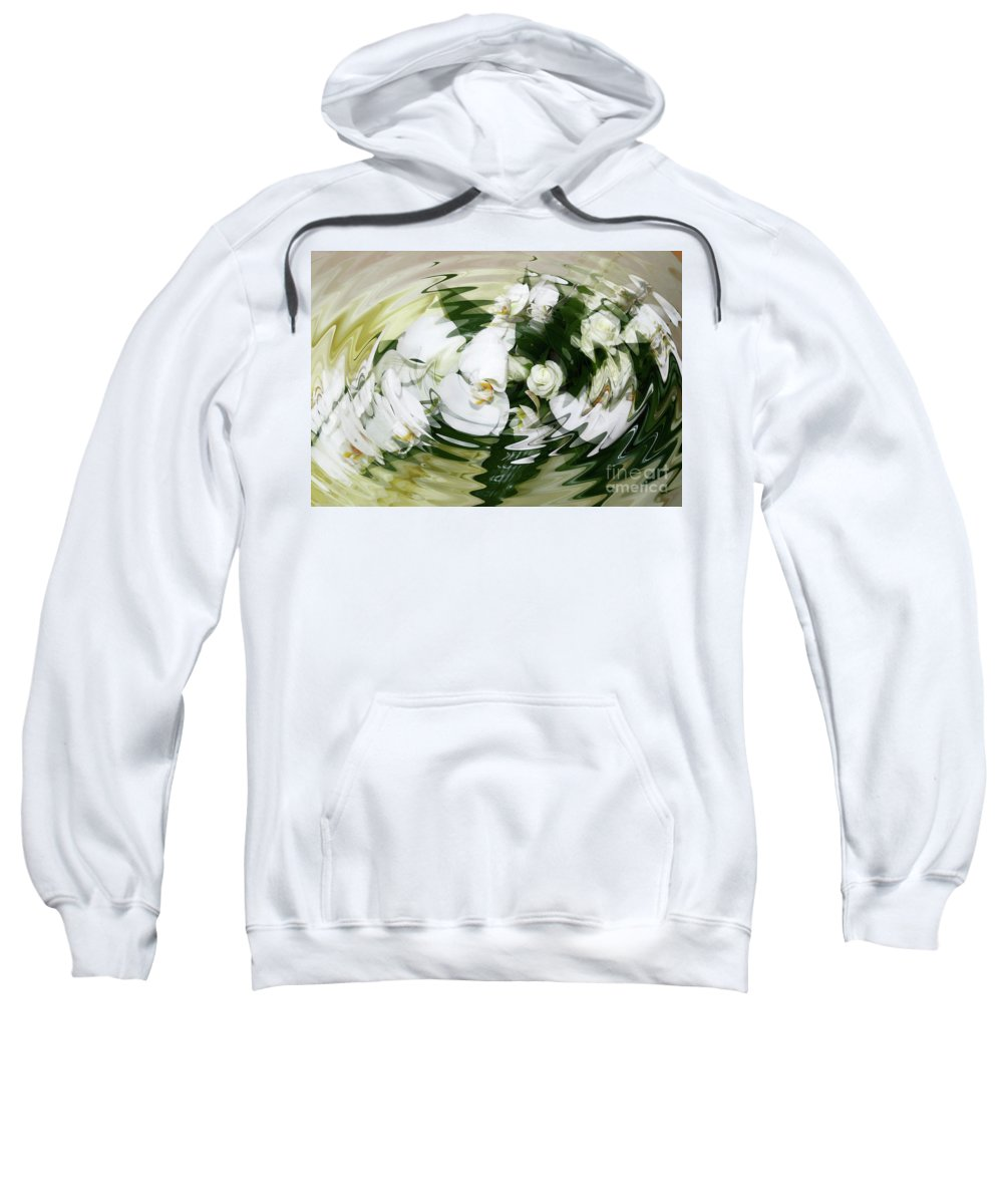 White Sweatshirt featuring the photograph Submerged by Diane Macdonald