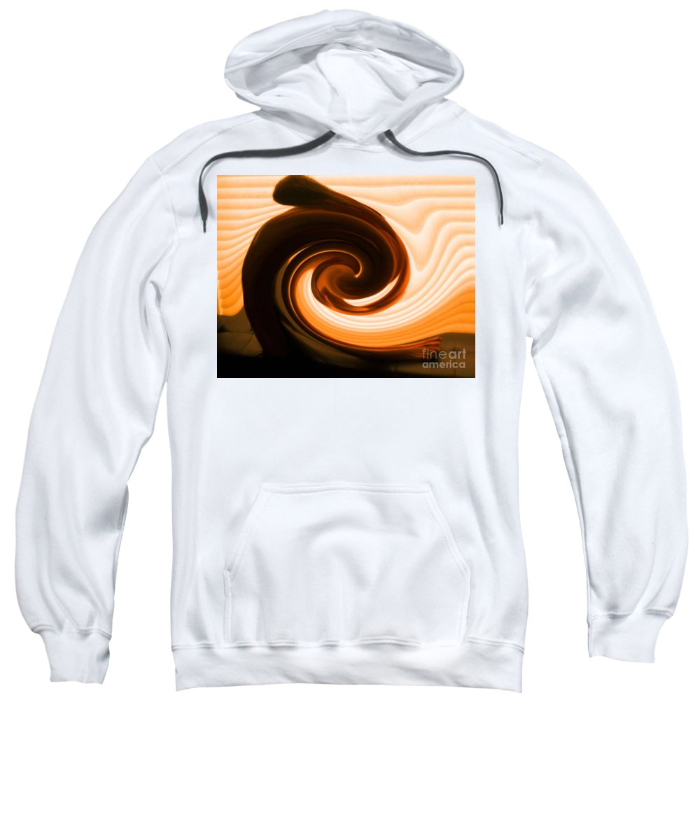 Life Force Sweatshirt featuring the photograph Inner Light by Lauren Leigh Hunter Fine Art Photography