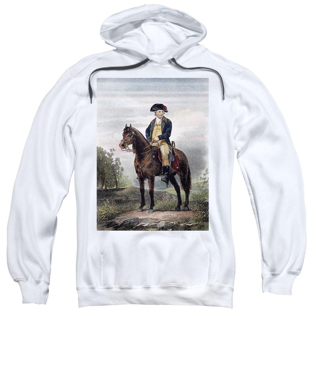 18th Century Sweatshirt featuring the photograph Israel Putnam (1718-1790) by Granger