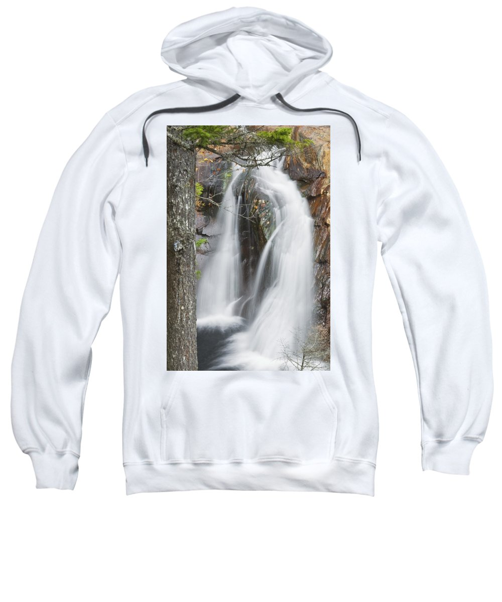 Maine Sweatshirt featuring the photograph Smalls Falls In Western Maine by Keith Webber Jr