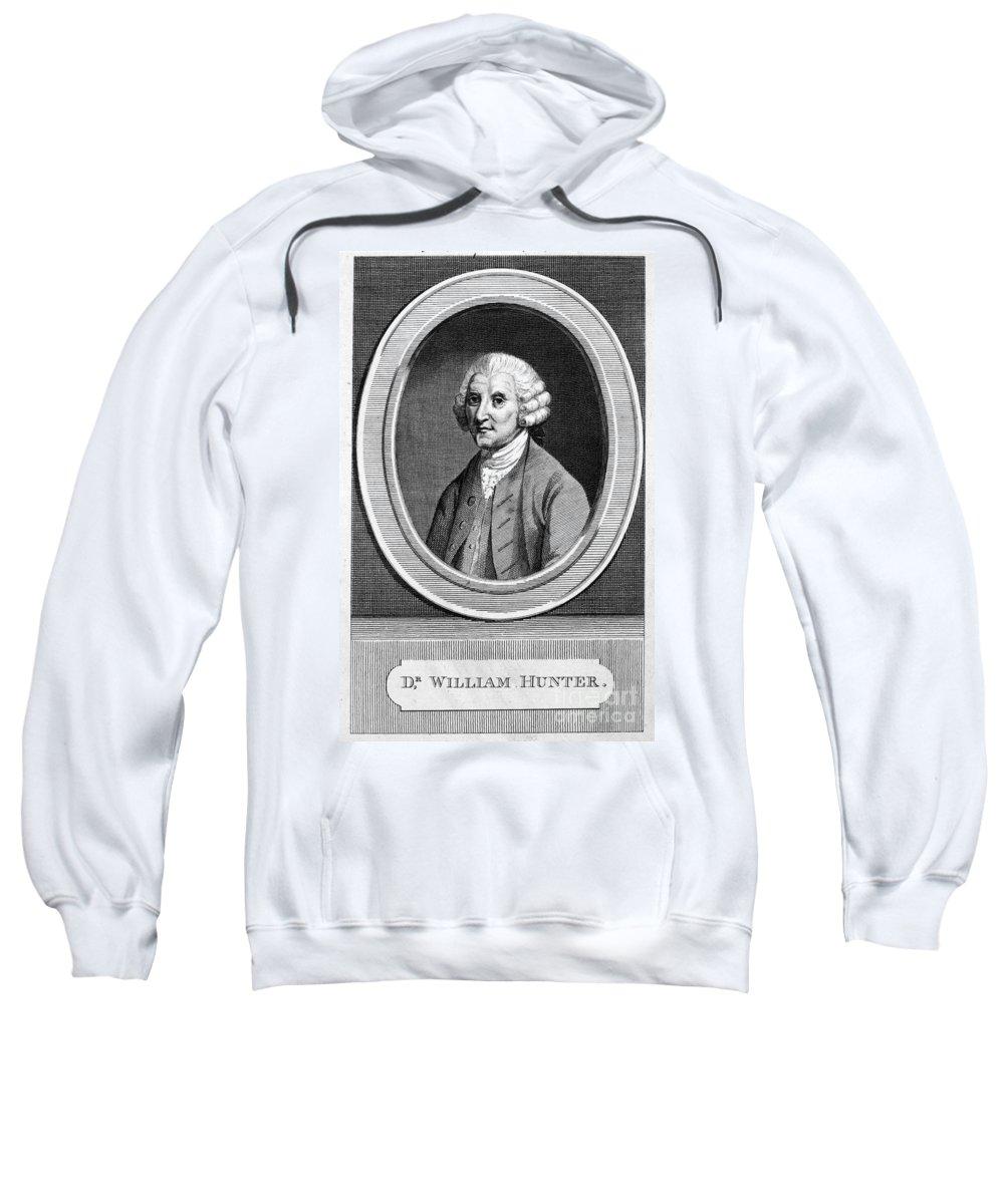 18th Century Sweatshirt featuring the photograph William Hunter (17178-1783) by Granger